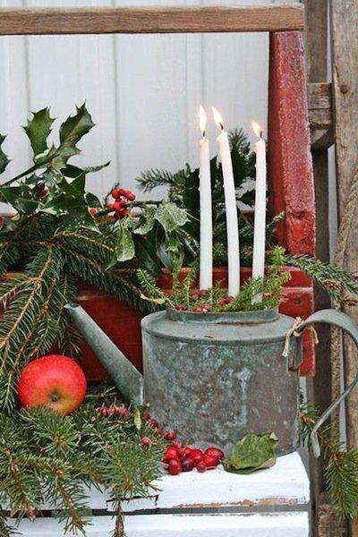 best christmas porch decoration ideas christmas decor festive candles momooze.com online magazine for modern moms