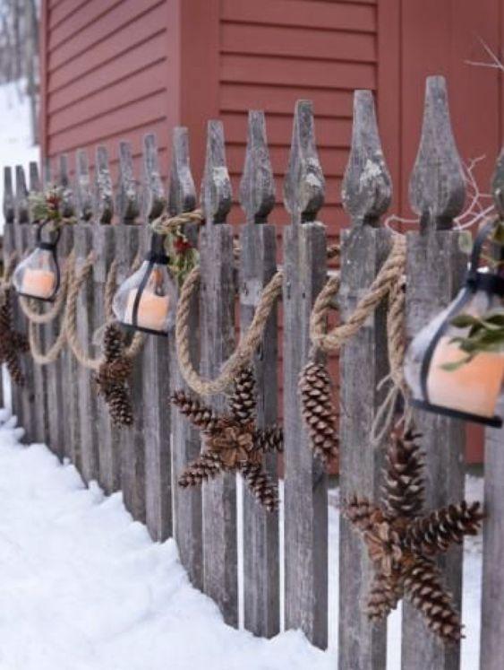 best christmas porch decoration ideas coastal fence decoration momooze.com online magazine for modern moms