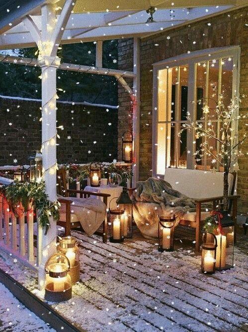 best christmas porch decoration ideas decor cozy porch momooze.com online magazine for modern moms