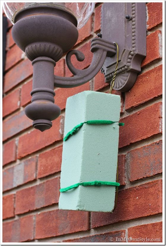best christmas porch decoration ideas floral foam momooze.com online magazine for modern moms