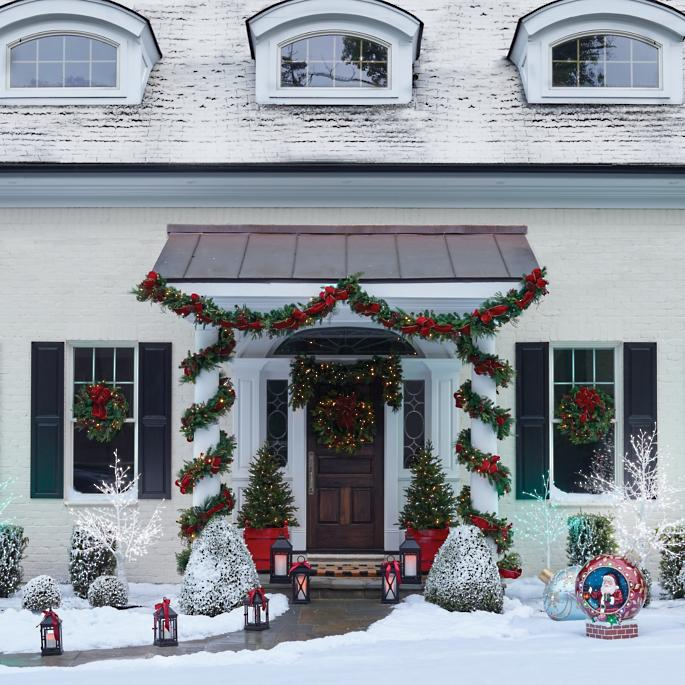 best christmas porch decoration ideas holiday scene momooze.com online magazine for modern moms