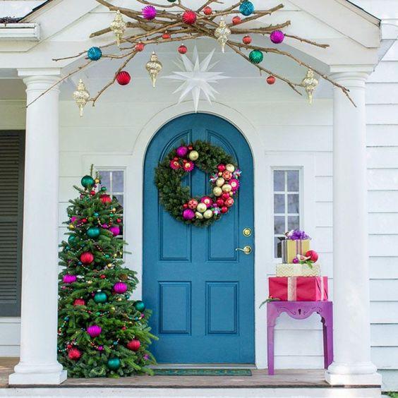 best christmas porch decoration ideas momooze.com online magazine for modern moms