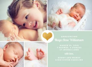 birth announcement custom design purpletrail.com momooze.com online magazine for modern moms 4