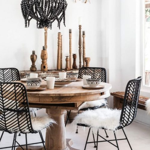 bohemian dining room ideas