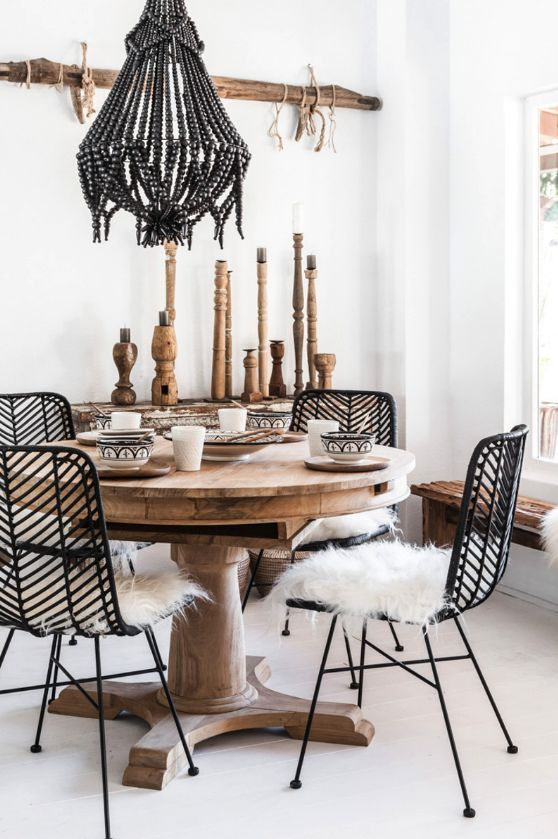 bohemian dining room ideas