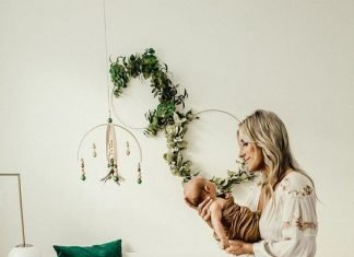 boho nursery chic momooze.com online mag for moms