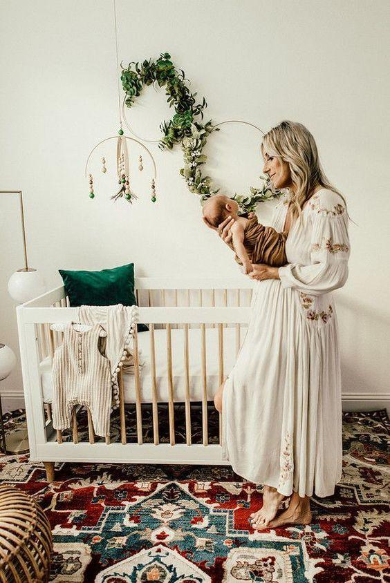 boho nursery chic momooze.com online mag for moms