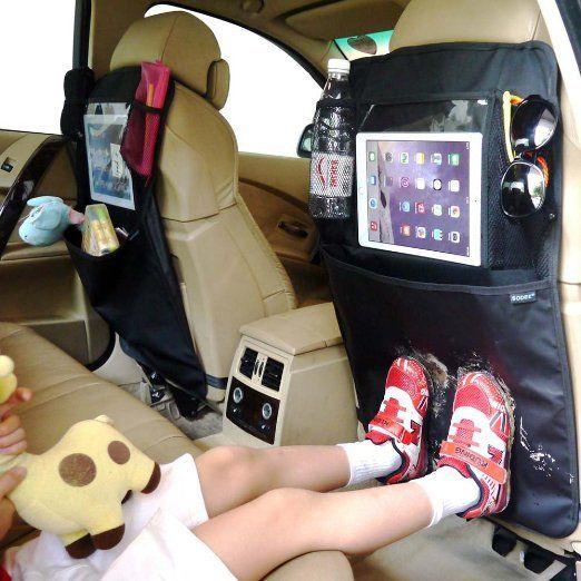 car hacks backseat organizer kids momooze.com online magazine for moms
