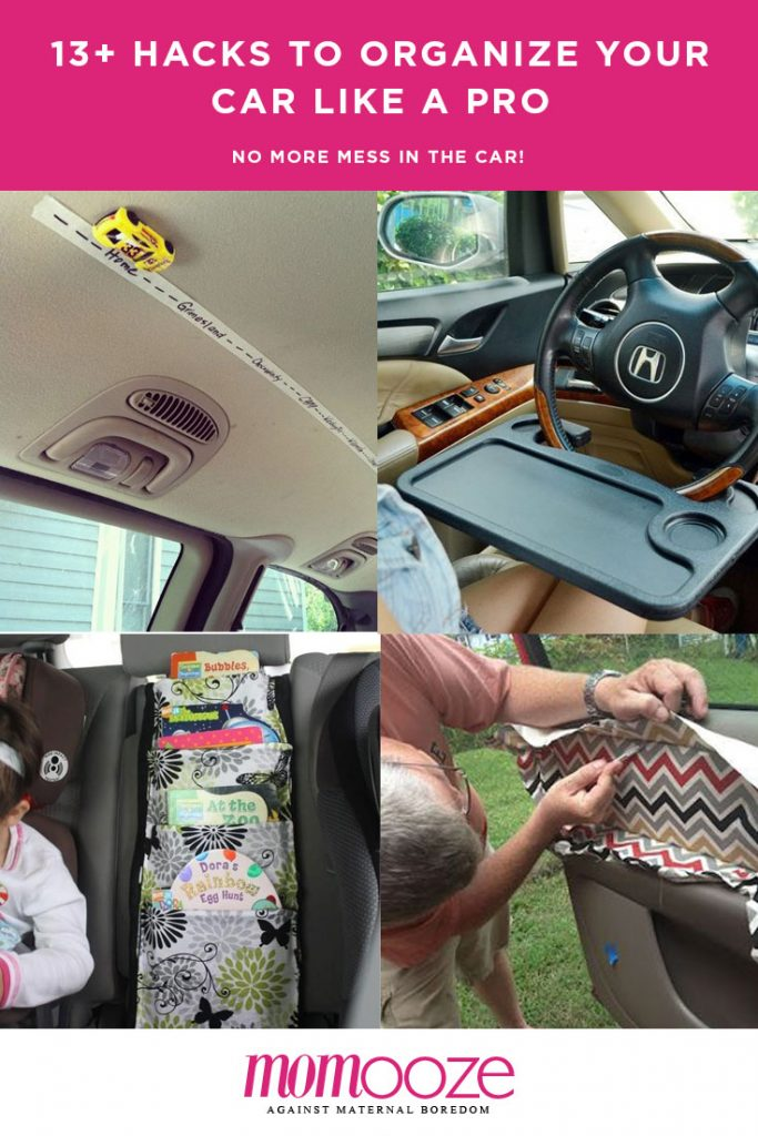 organize your car - car hacks
