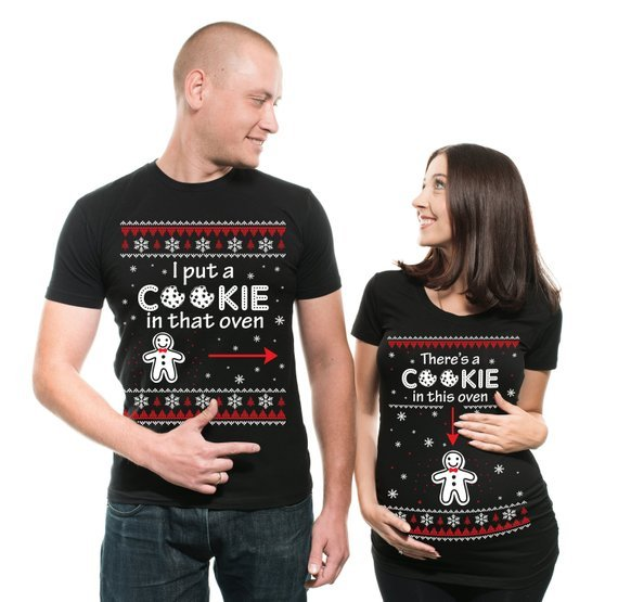 christmas pregnancy tops cookie oven momooze.com online magazine for modern moms