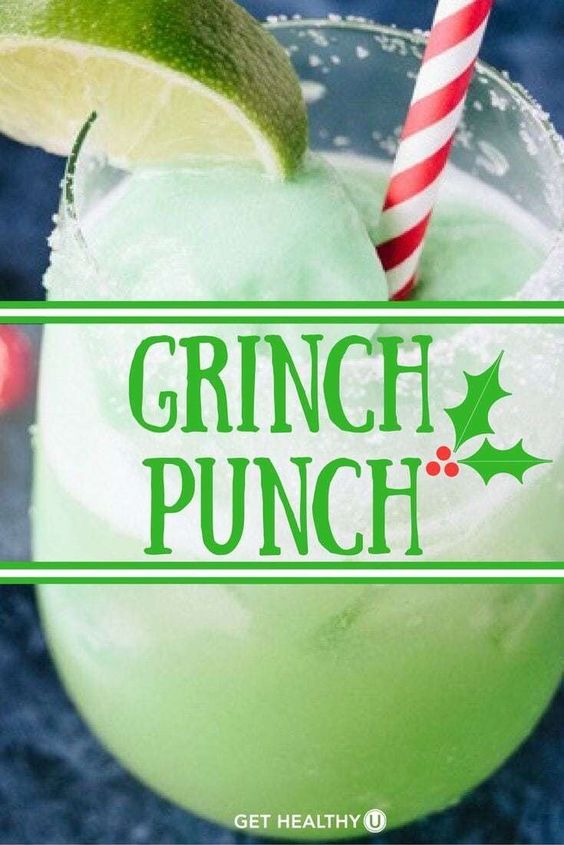 35+ Easy Christmas Punch (Alcoholic + Non-Alcoholic)