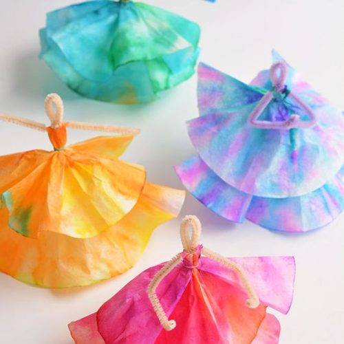 25+ Creative Coffee Filter Crafts for Kids of All Ages
