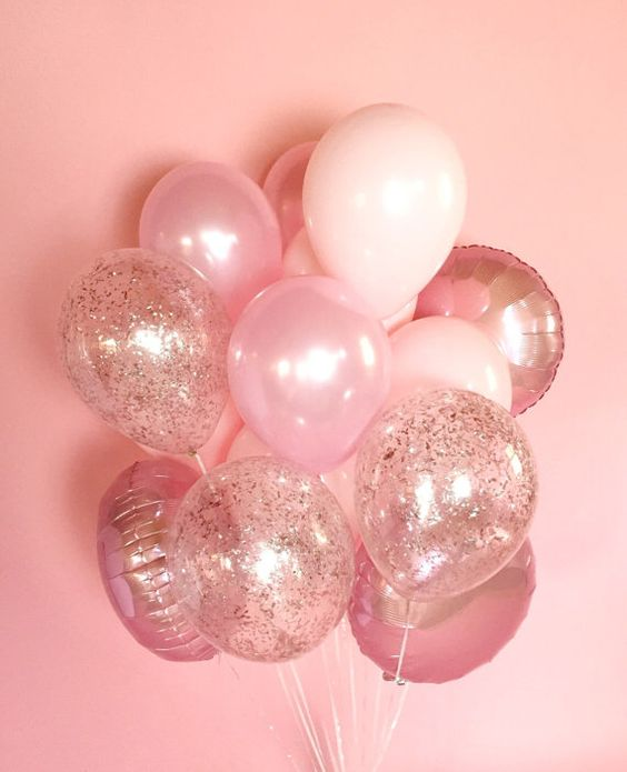 filled balloons