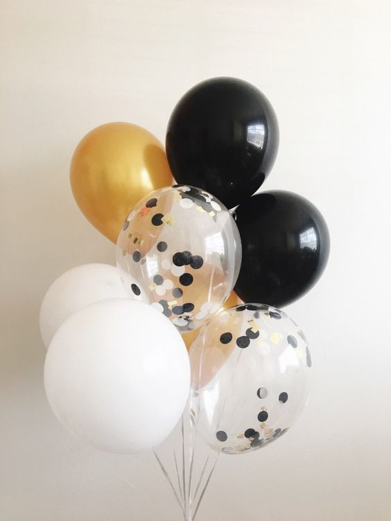 25 Filled Balloons Inspiration for your