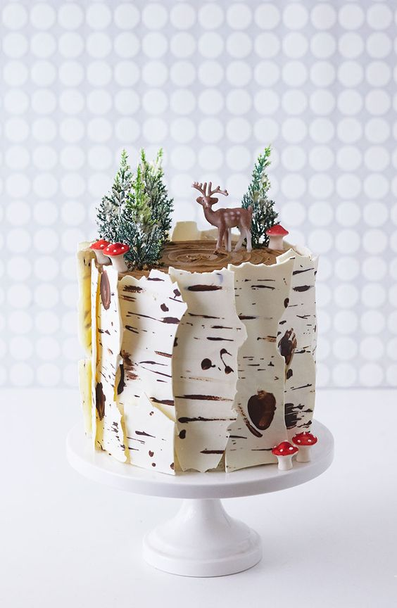 for heavens cake stunning delicious beautiful winter birch tree cake momooze.com online magazine for moms