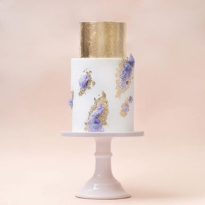 for heavens cake stunning delicious gold white lavender cake momooze.com online magazine for moms
