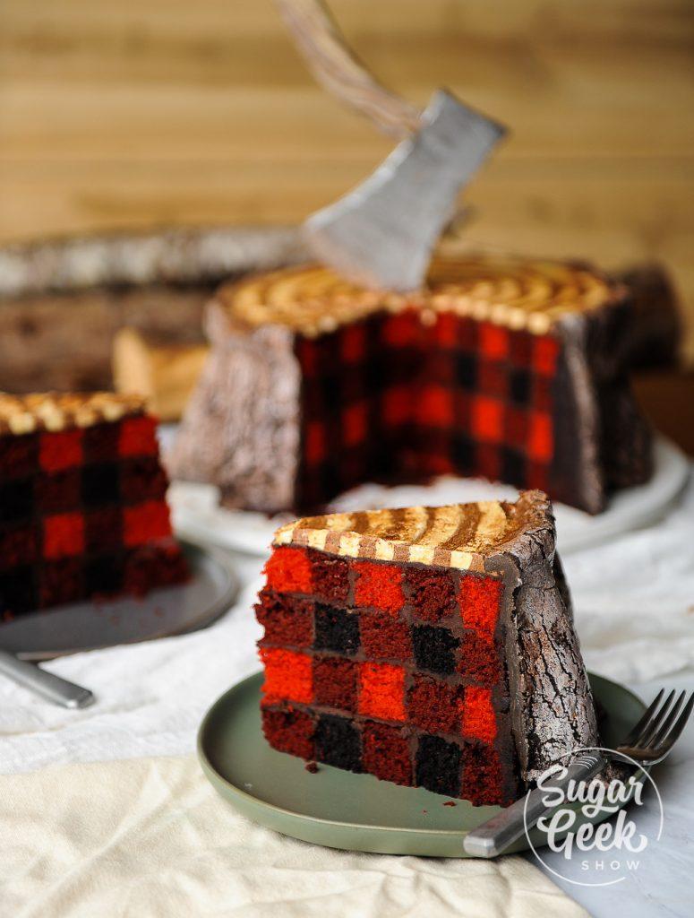 for heavens cake stunning delicious lumberjack cake momooze.com online magazine for moms