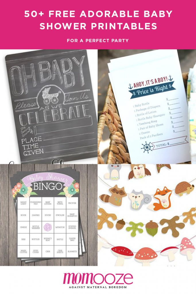 free baby shower printables for perfect party