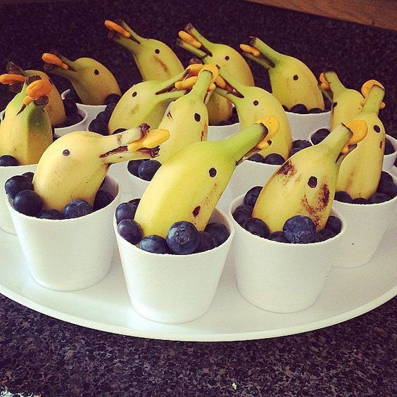 getting creative with fruits and vegetables dolphin blueberry momooze.com picturesque playground for moms