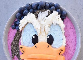 getting creative with fruits and vegetables donald duck smoothie momooze.com picturesque playground for moms