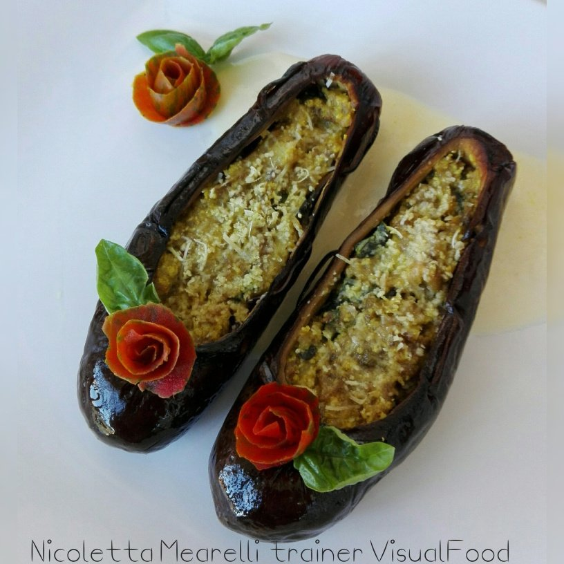 getting creative with fruits and vegetables eggplant ballerina shoes momooze.com picturesque playground for moms
