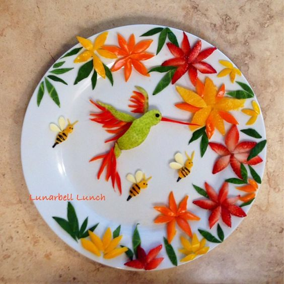 getting creative with fruits and vegetables fruit hummingbird momooze.com picturesque playground for moms