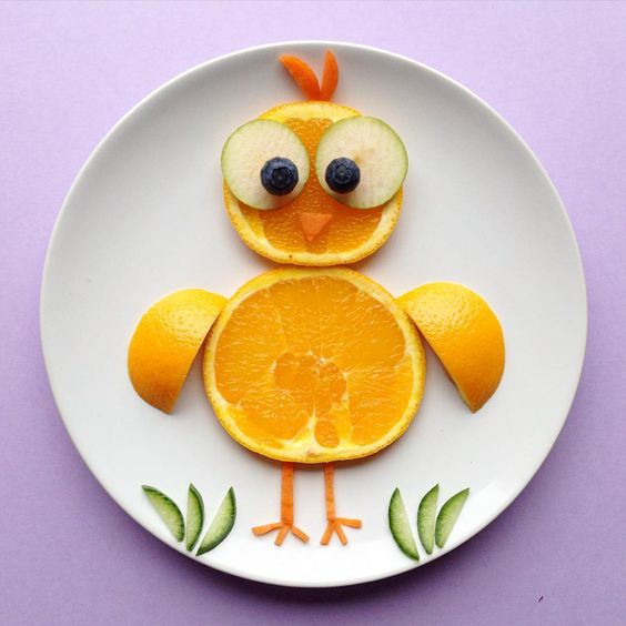 getting creative with fruits and vegetables orange chicken momooze.com picturesque playground for moms