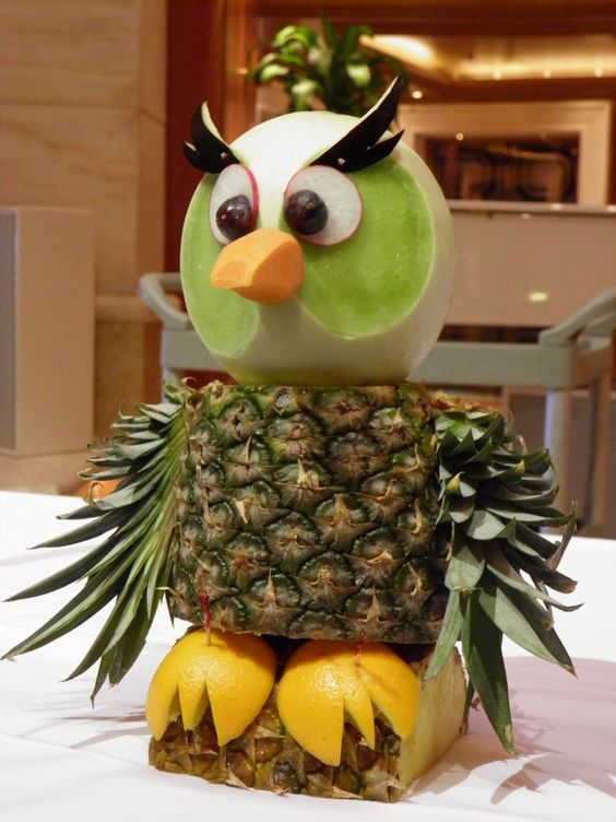 getting creative with fruits and vegetables owl momooze.com picturesque playground for moms