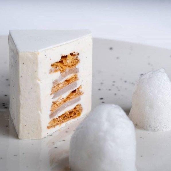 haute cuisine treats pastry anne sophie pic white cake momooze.com online magazine for modern moms