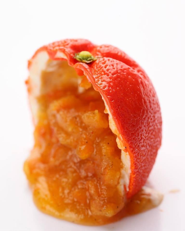 haute cuisine treats tangerine cedric grolet momooze.com online magazine for modern moms