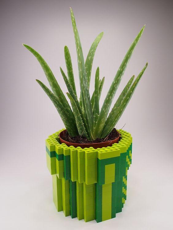 lego plant pot