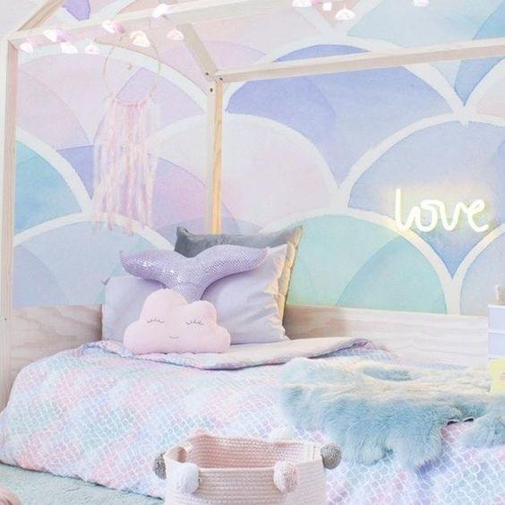 14+ Whimsical Mermaid Bedroom Ideas for Girls
