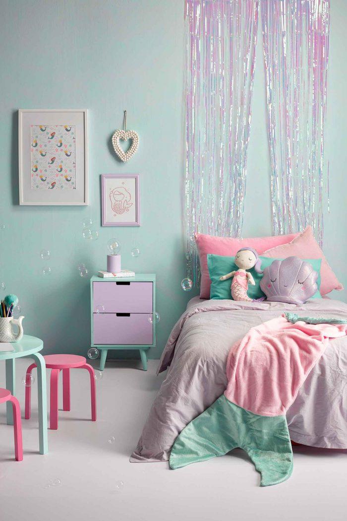 33+ Whimsical Mermaid Bedroom Ideas for Girls
