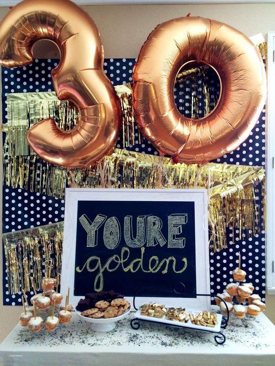 milestone birthday party ideas
