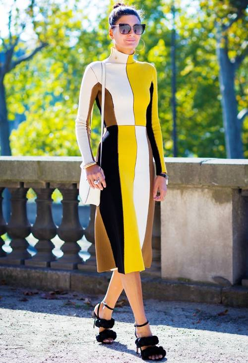 must have fashion style for working moms color block dress momooze online magazine for modern moms
