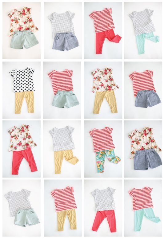 Six Tips For Creating A Capsule Wardrobe For A New Baby