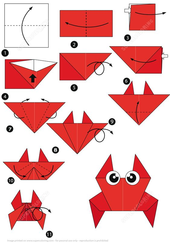 35+ Easy Origami for Kids with Instructions | momooze | 797x563