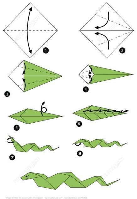 Step By Step Instructions How To Make Origami A Balloon Rabbit ... | 636x436
