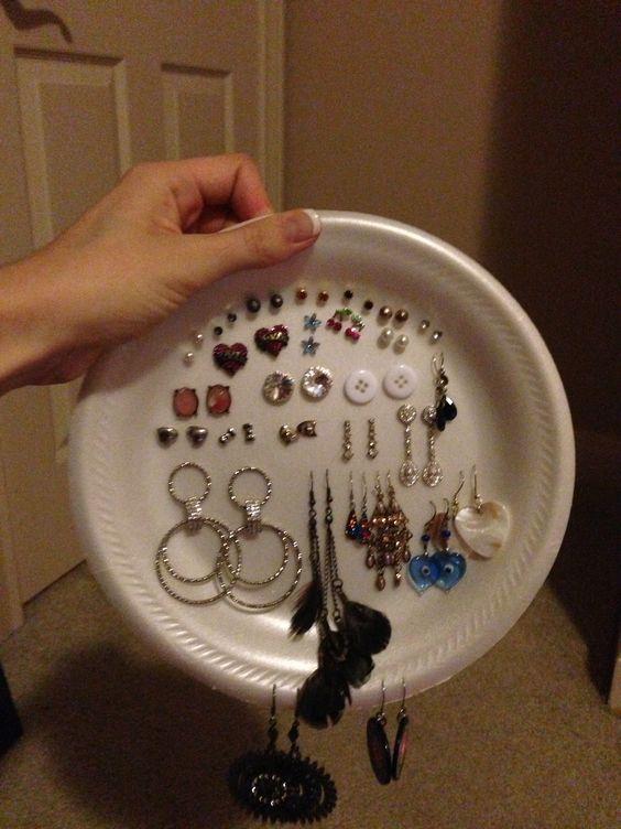 packing earrings