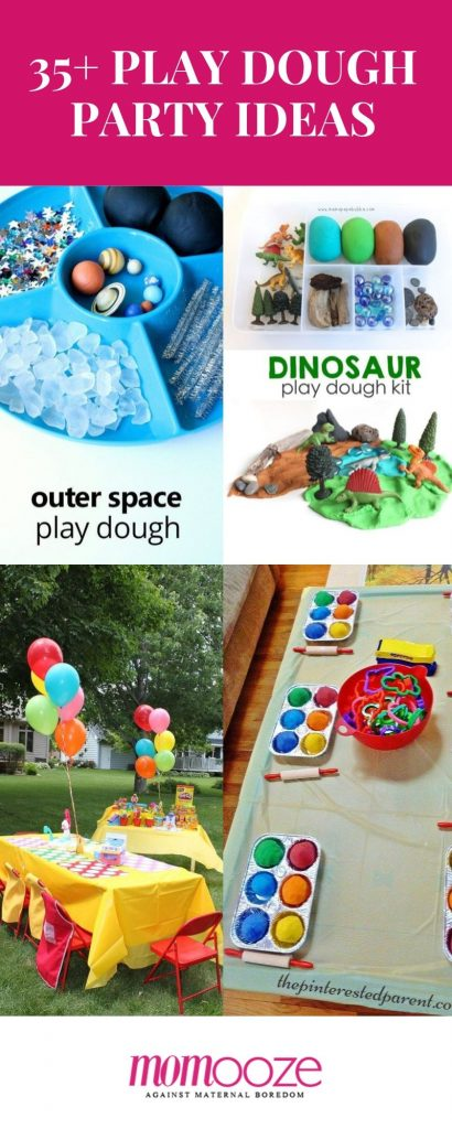 play dough party ideas for kids