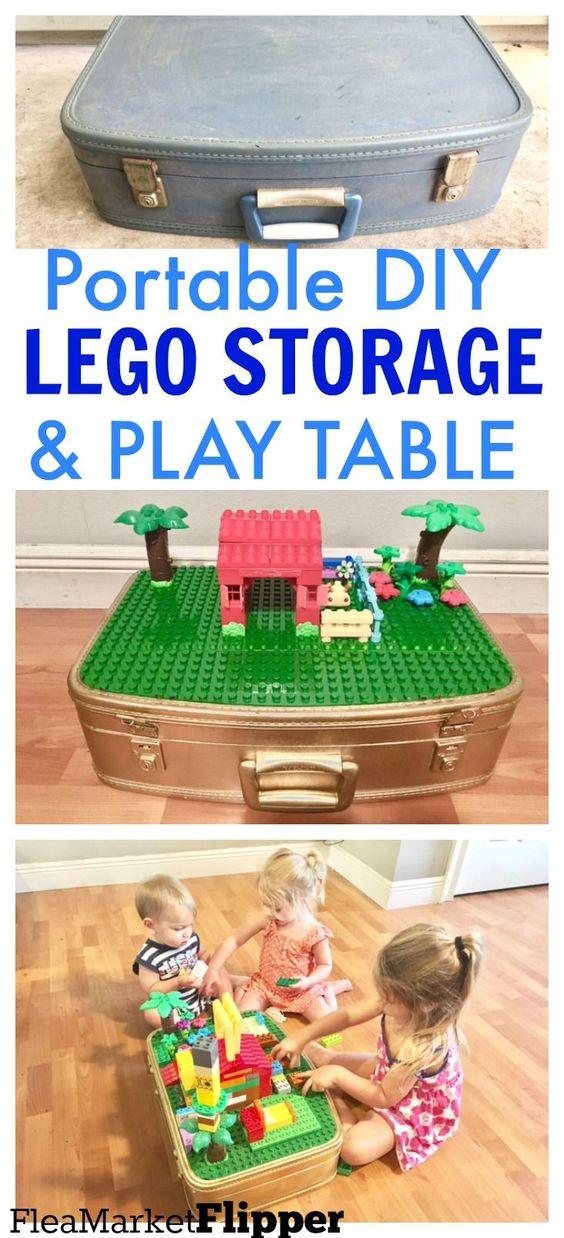 portable lego storage