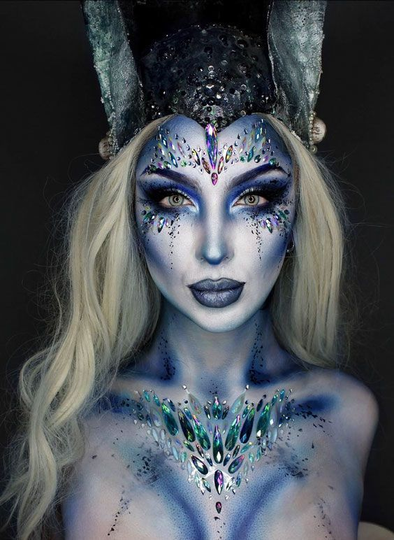 40+ Most Jaw-Dropping Pretty Halloween Makeup Ideas | Momooze - Makeup Ideas