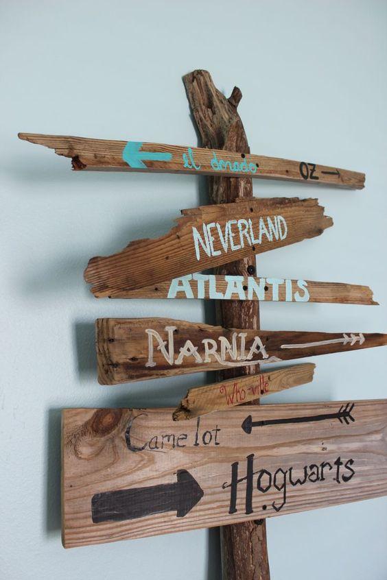 rainy day activities signs hogwarts harry potter narnia kids bedroom momooze.com