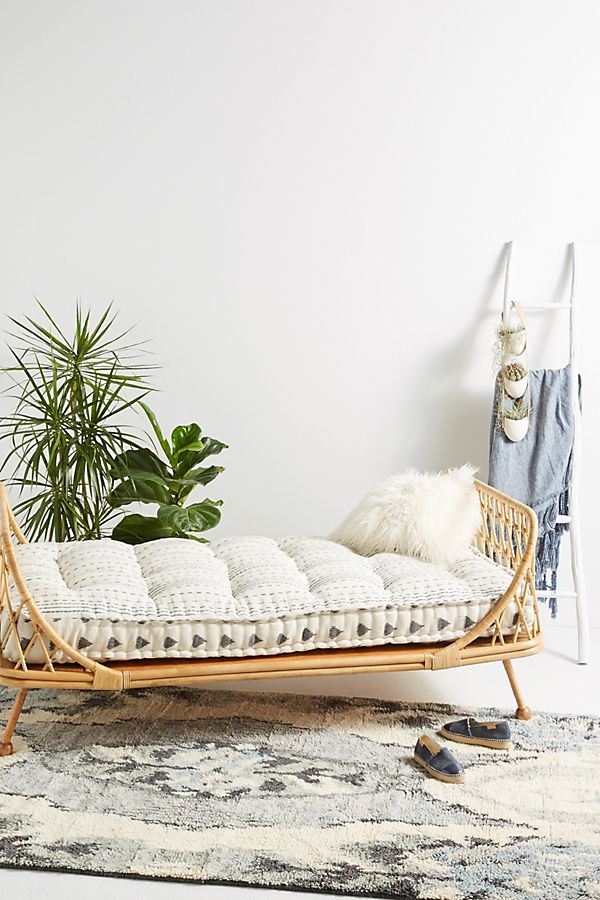 rattan bed anthropologie