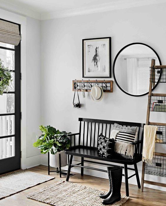 40+ Genius Entryway & Small Foyer Decorating Ideas