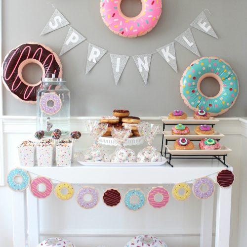 sprinkles baby shower donuts party momooze.com online magazine for moms