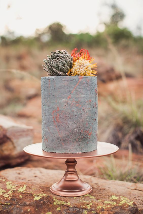 stunning delicious kids birthday industrial boho vibe cake momooze.com online magazine for moms