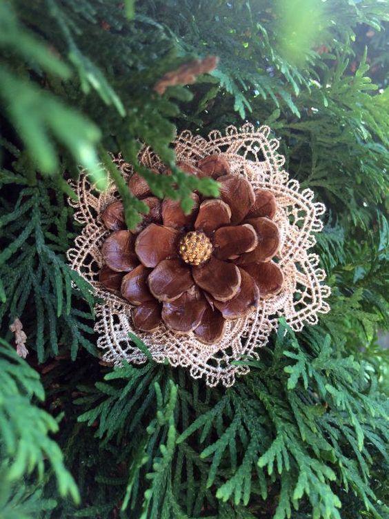 ultimate christmas decoration christmas pine cone ornament momooze.com online magazine for modern moms