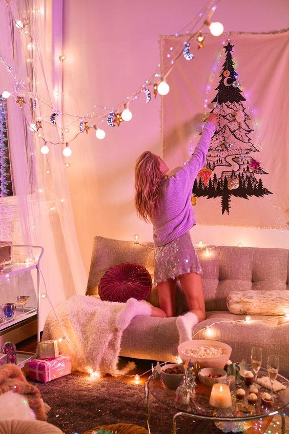 ultimate christmas decoration christmas tree tapestry momooze.com online magazine for modern moms