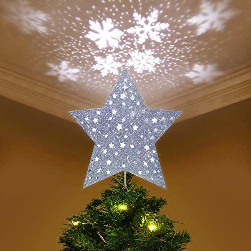 ultimate christmas decoration christmas treetopper led lights projector momooze.com online magazine for modern moms